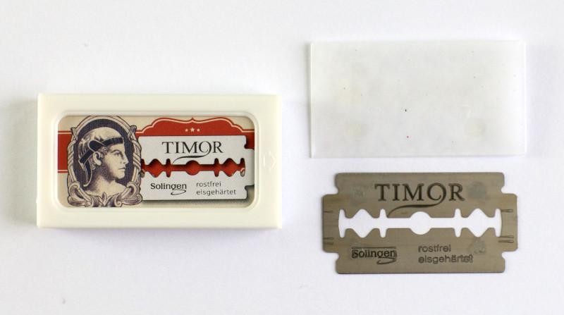 Balíček žiletek Timor